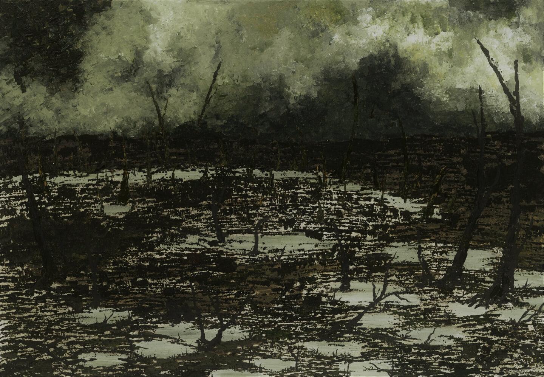 Lost (2017). 100 x 70 cm.