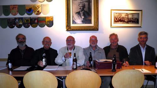 """An diesem 17. d.Herbstmonds aU 154 fand der erste OR in der """"Neuen Traunburg"""" statt."""