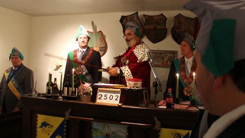 """OI Rt IONOS weiht die """"Neue Traunburg"""" im Namen des UHU, OHO, AHA in der 2.502-ten Sippung ein !"""