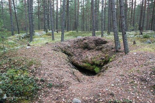 Финский блиндаж
