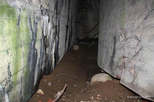 Коридор подземного каземата