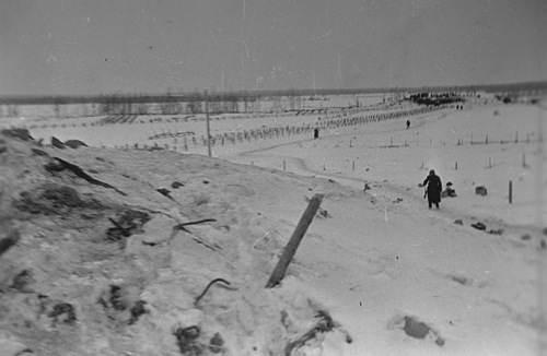 """Общий вид разрушенных укреплений """"линии Маннергейма"""""""