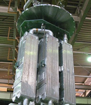 大型熱交換器