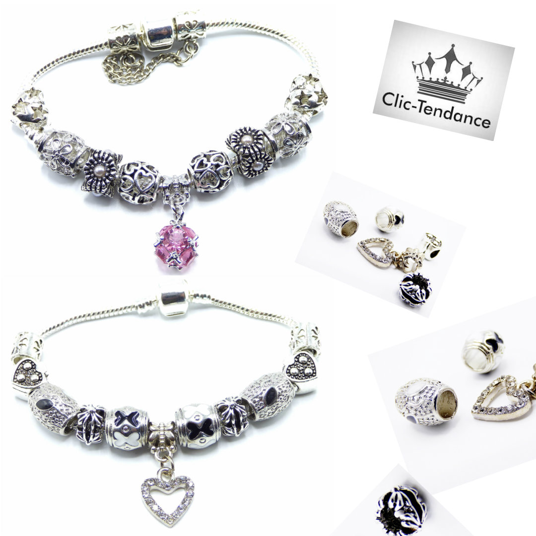 bracelet fantaisie charms