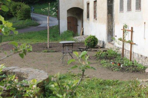 Neu gestalteter Gutshof vor Heynitz 10, Foto: Eike von Watzdorf