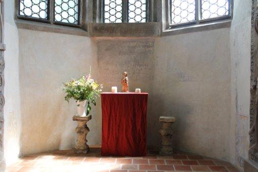 Heynitzer Schlosskapelle 2016, Foto: Elisabeth von Watzdorf