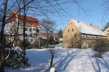 Viel Schnee und Kälte in Heynitz - Bildergalerie