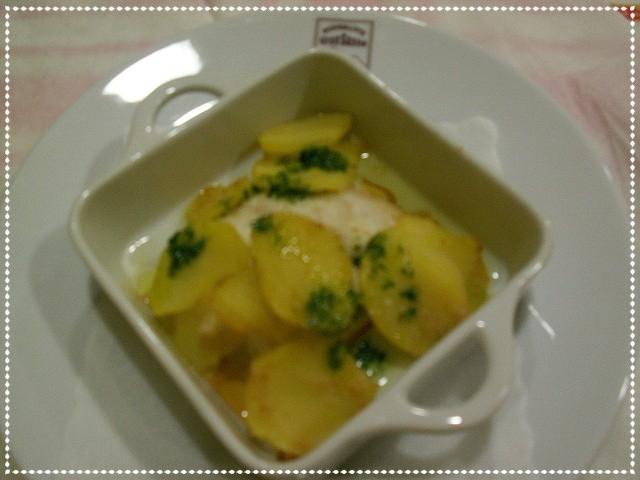 Baccalà con patate