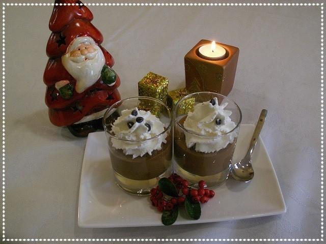 Mousse al cioccolato e panna