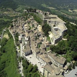 La fortezza di Civitella del Tronto (TE)
