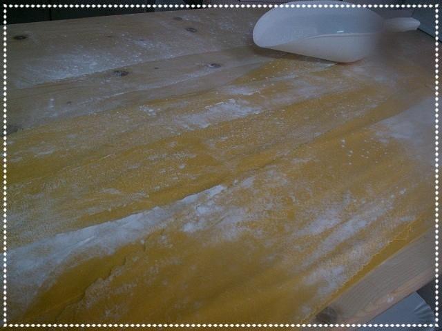 Pasta fresca da tagliare