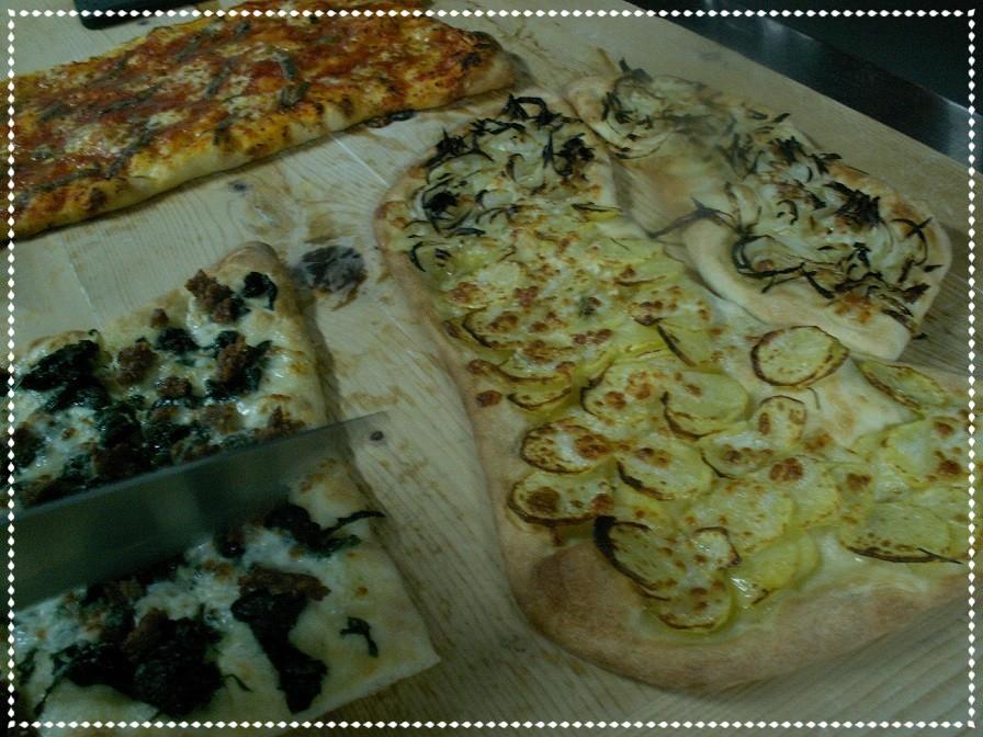 Sfornata di pizze