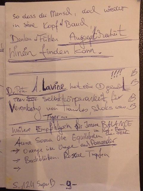 auf dem link finden Sie die Bücher und Cd von Dr. Peter Lavine