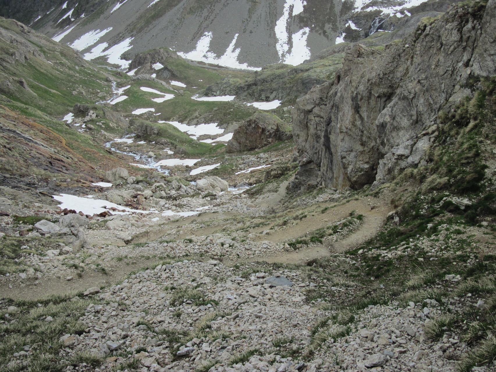 Abstieg nach Kummenalp