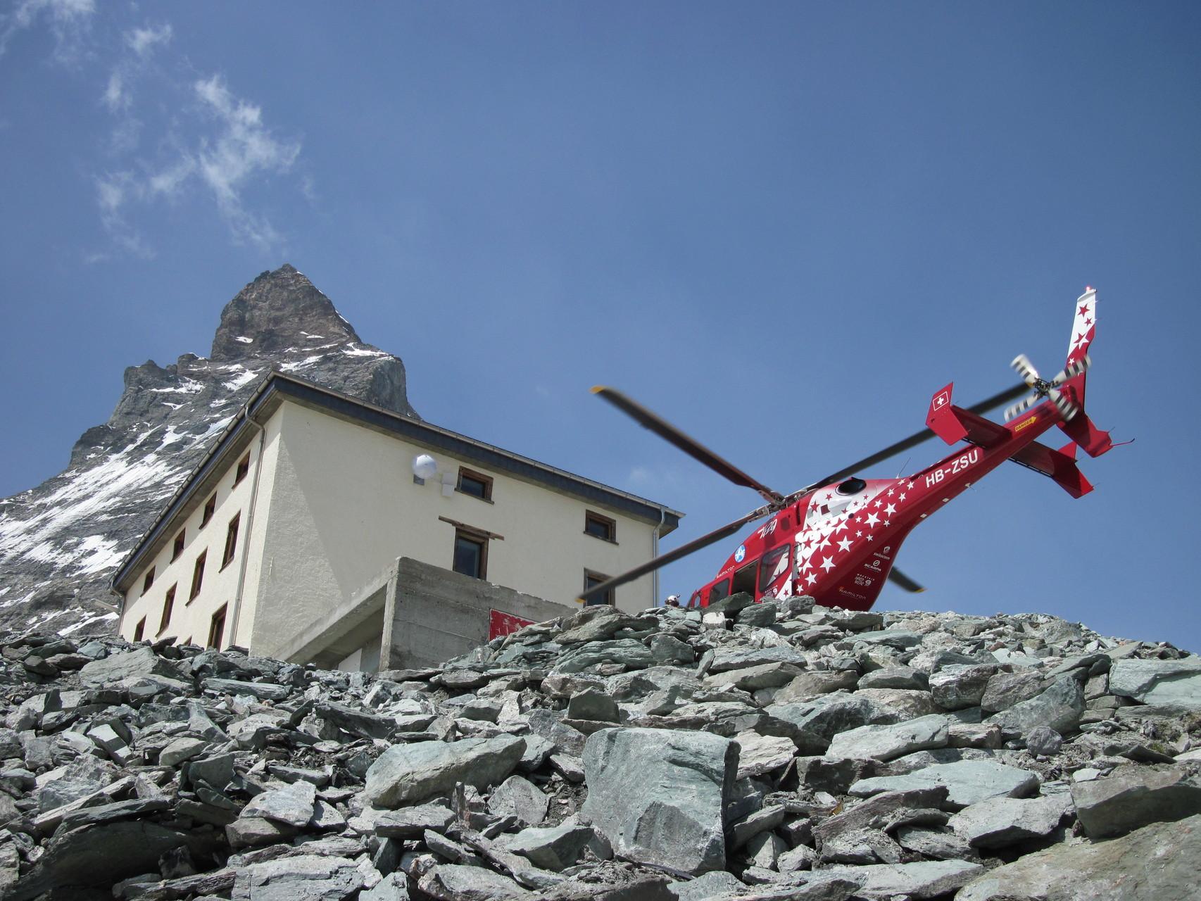 Horu, Hörnlihütte und Air Zermatt - alles Zermatter Wahrzeichen