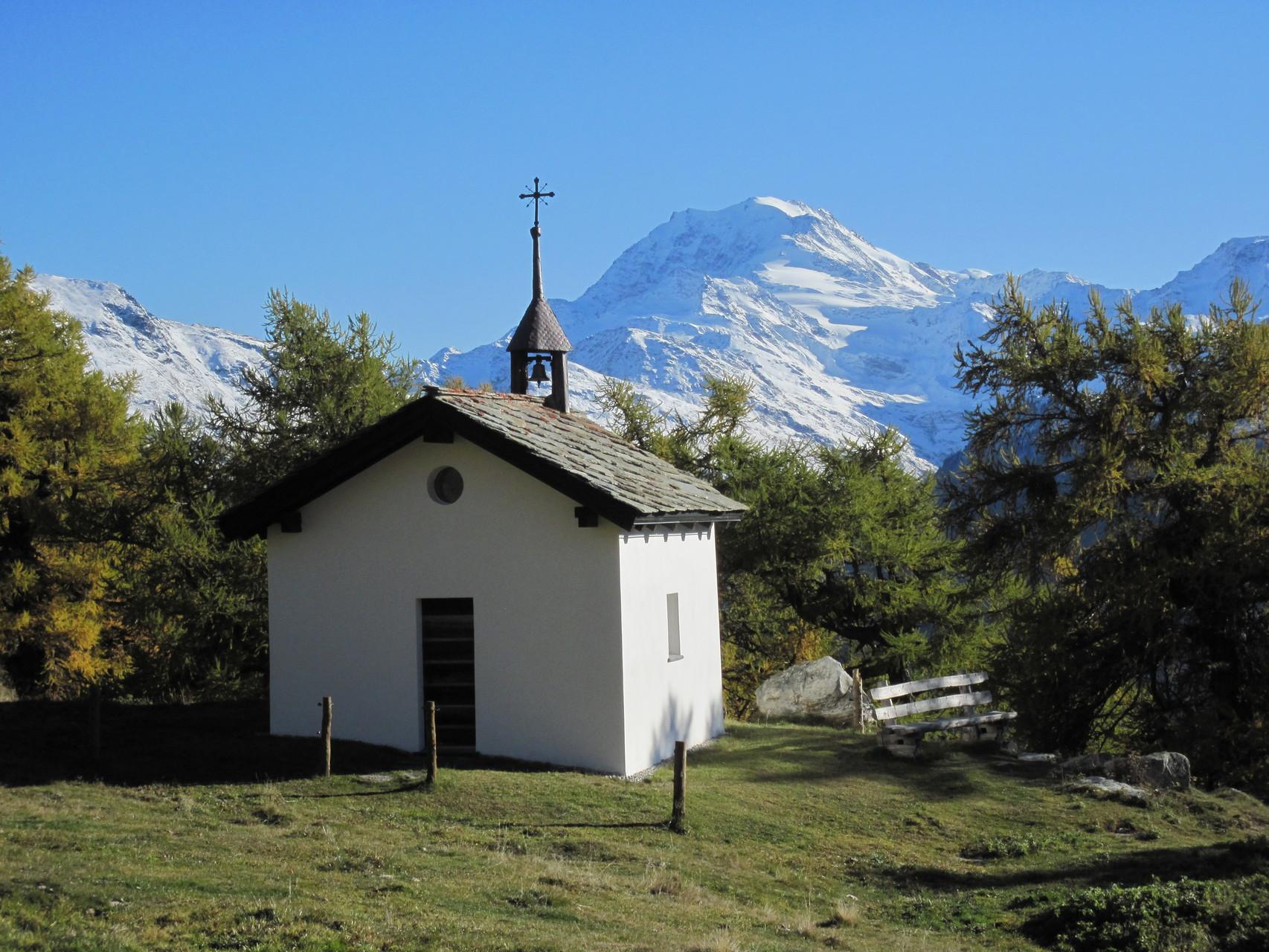 Kapelle auf Brischeralp