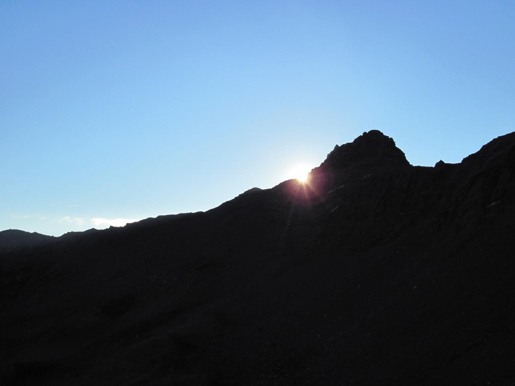 Sonnenuntergang am Mäderhorn