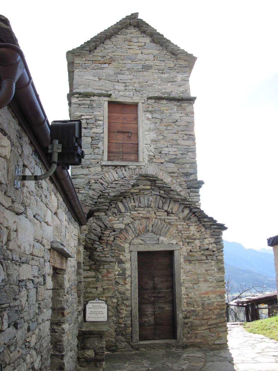 Leopontischer Tempel von Roldo