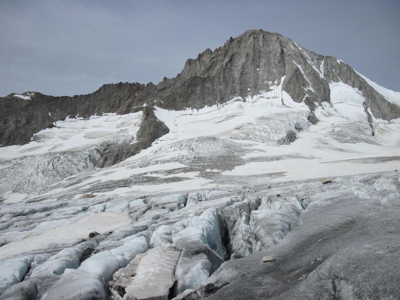 Bietschhorn und Baltschiedergletscher