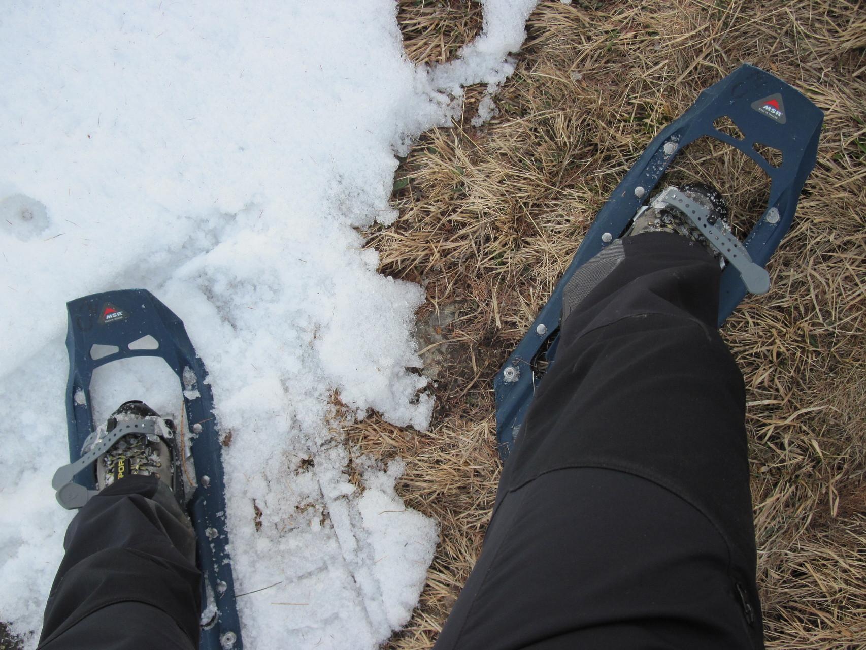 Schritt vom Winter in den Frühling...
