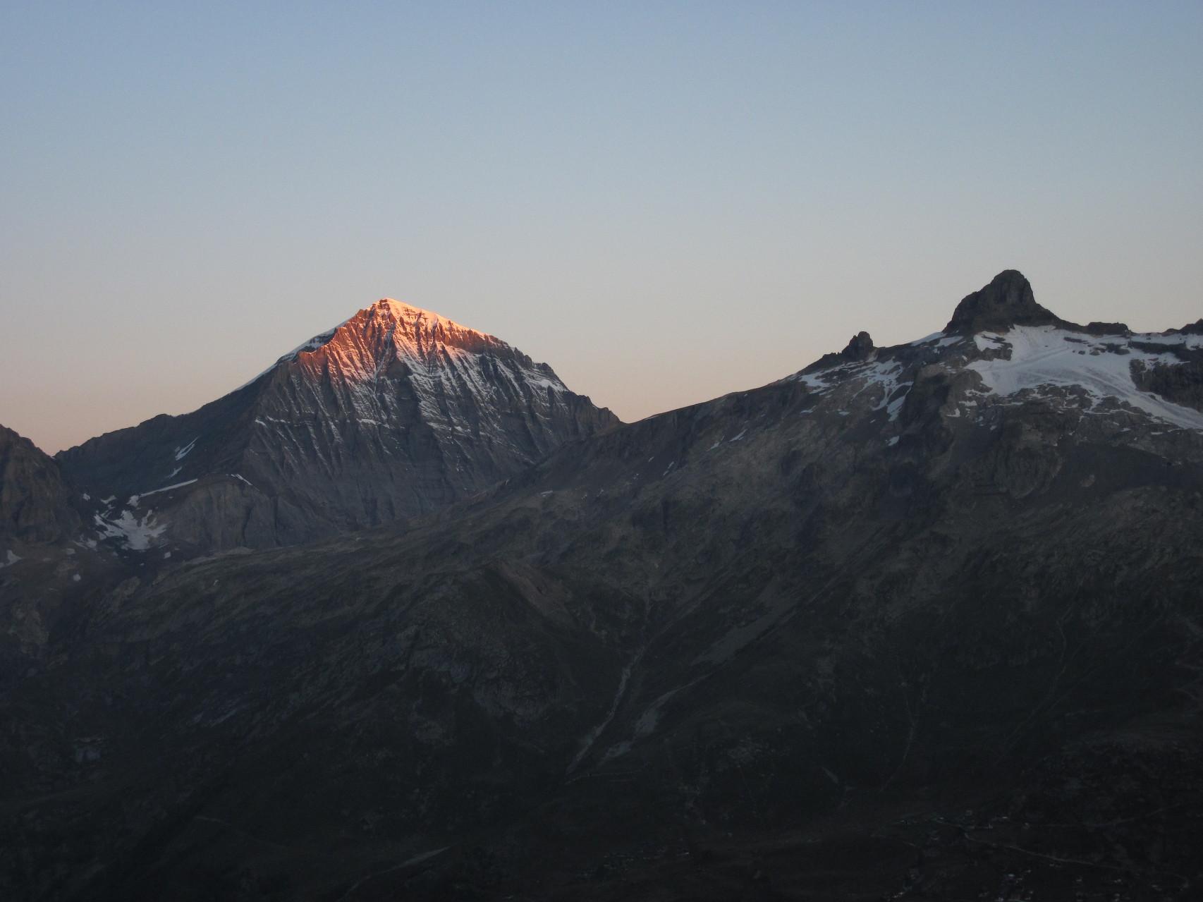 Sonnenaufgang am Balmhorn