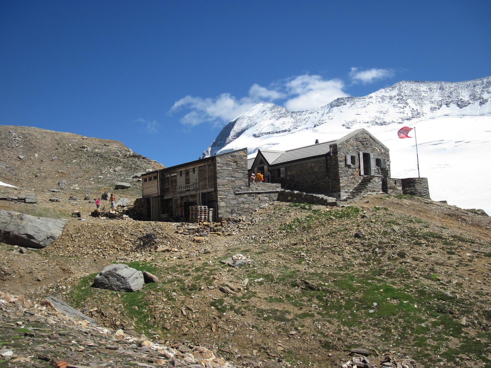 Monte Leone Hütte oberhalb des Simplonpasses