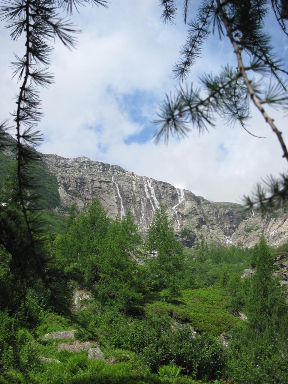 wunderbare Wasserfälle