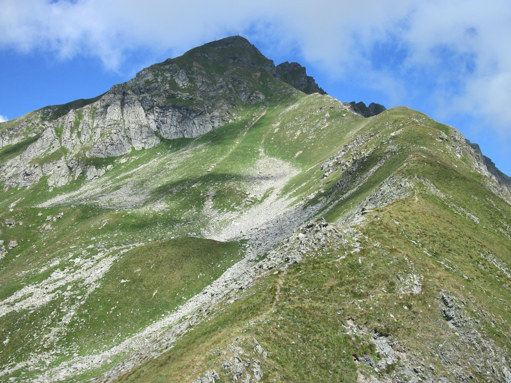Blick vom Passo di Straciugo zum Pizzo Straciugo