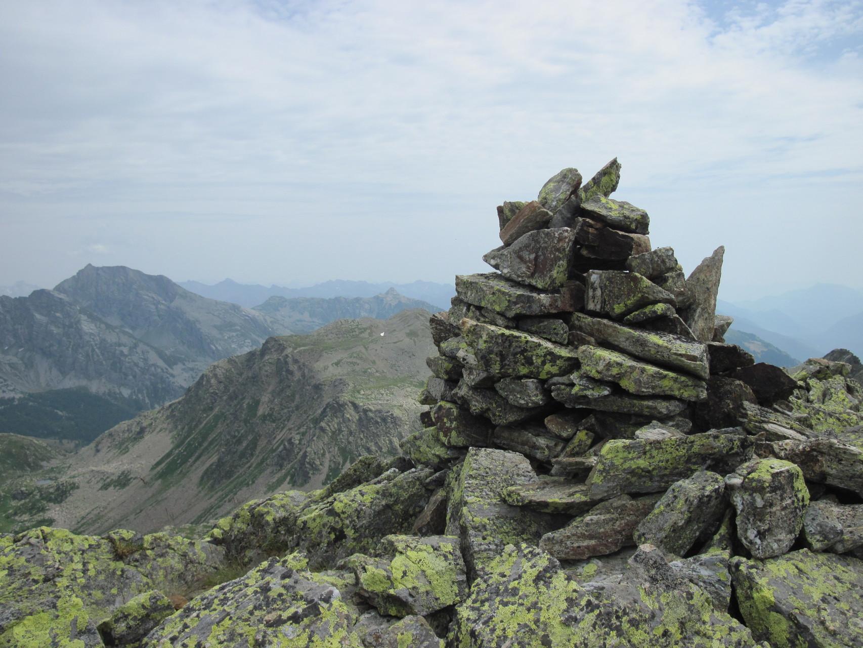 Gipfelsteinmannli Tschawinerhorn