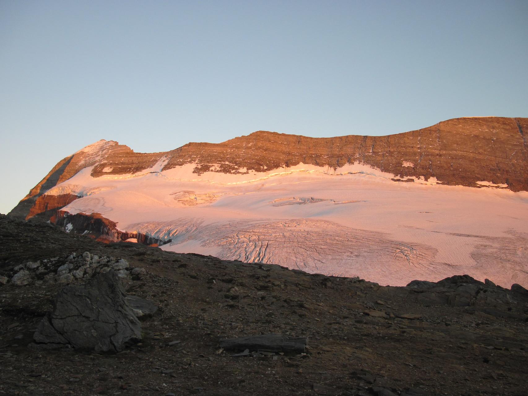 Sonnenuntergang am Monte Leone
