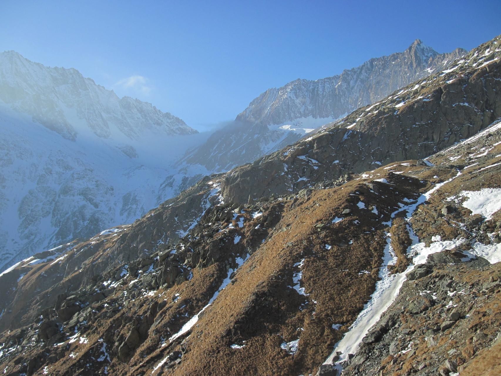 Ausblick zum Zwischbergenpass
