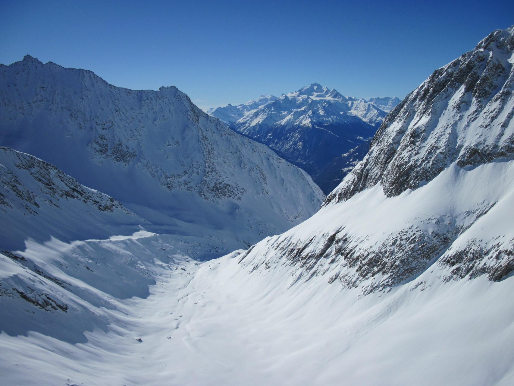 Das winterliche Baltschiedertal