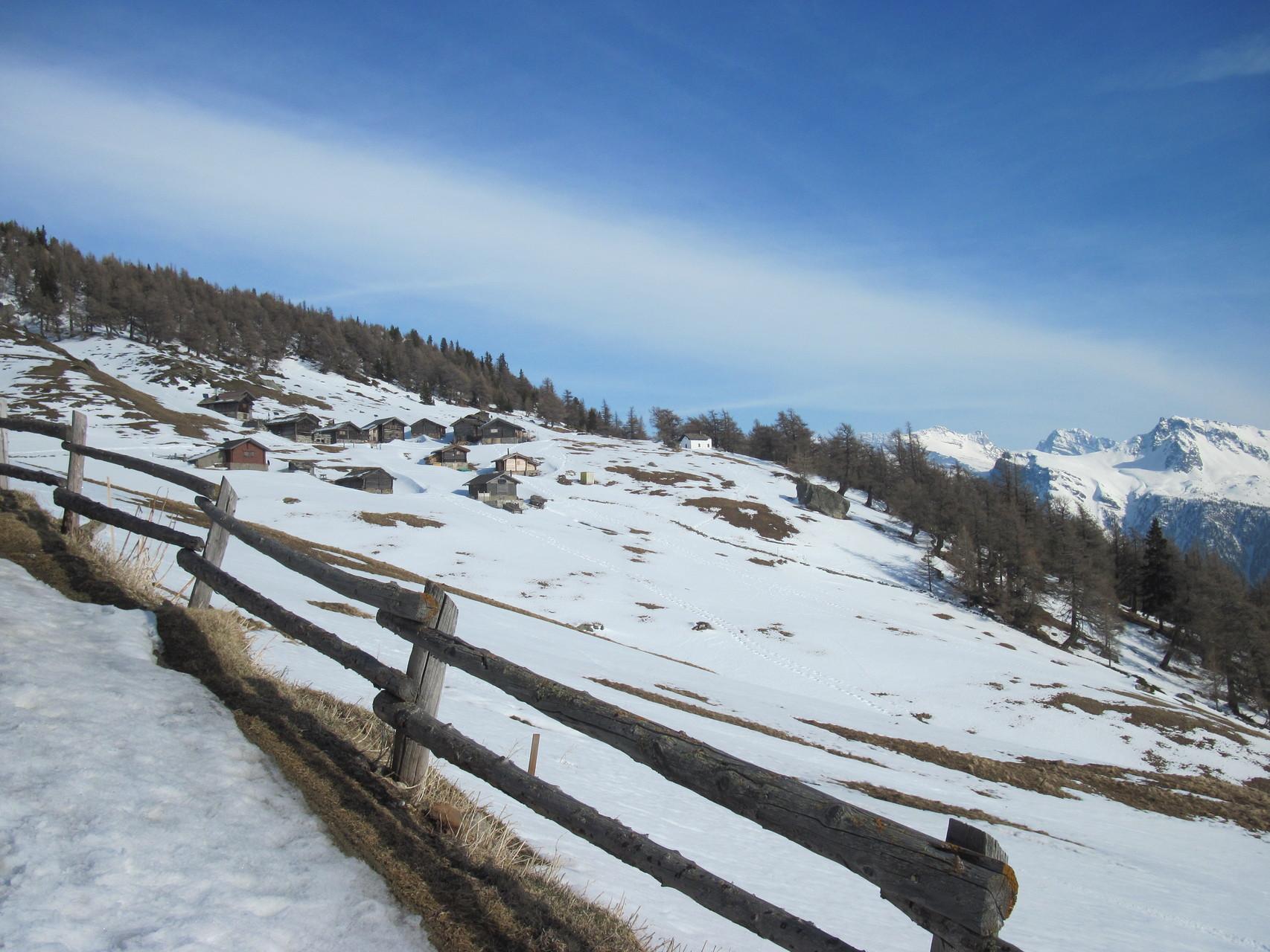 Brischeralp oberhalb Safrandorf Mund