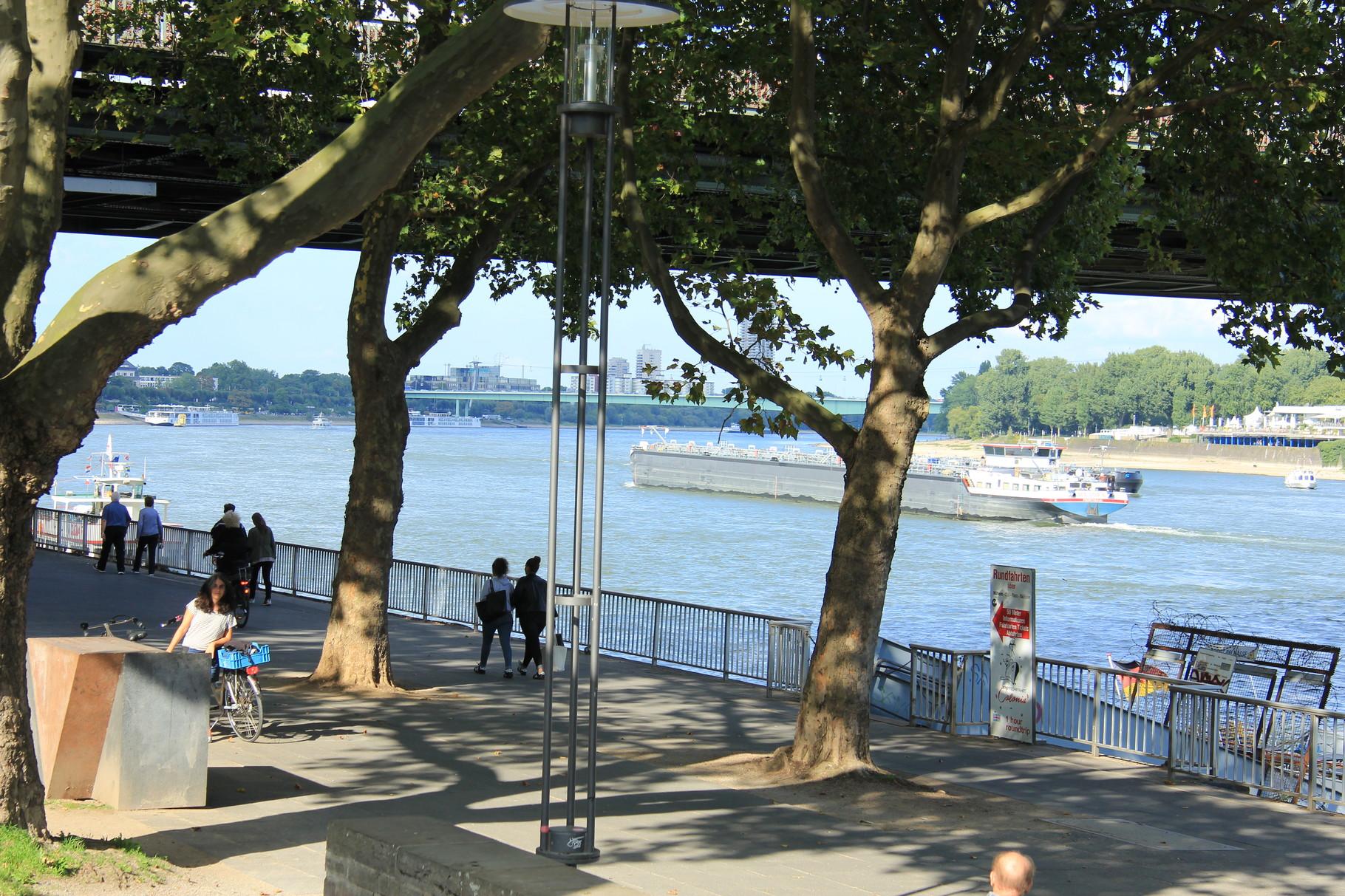 Kurzführung - Das Rheinufer