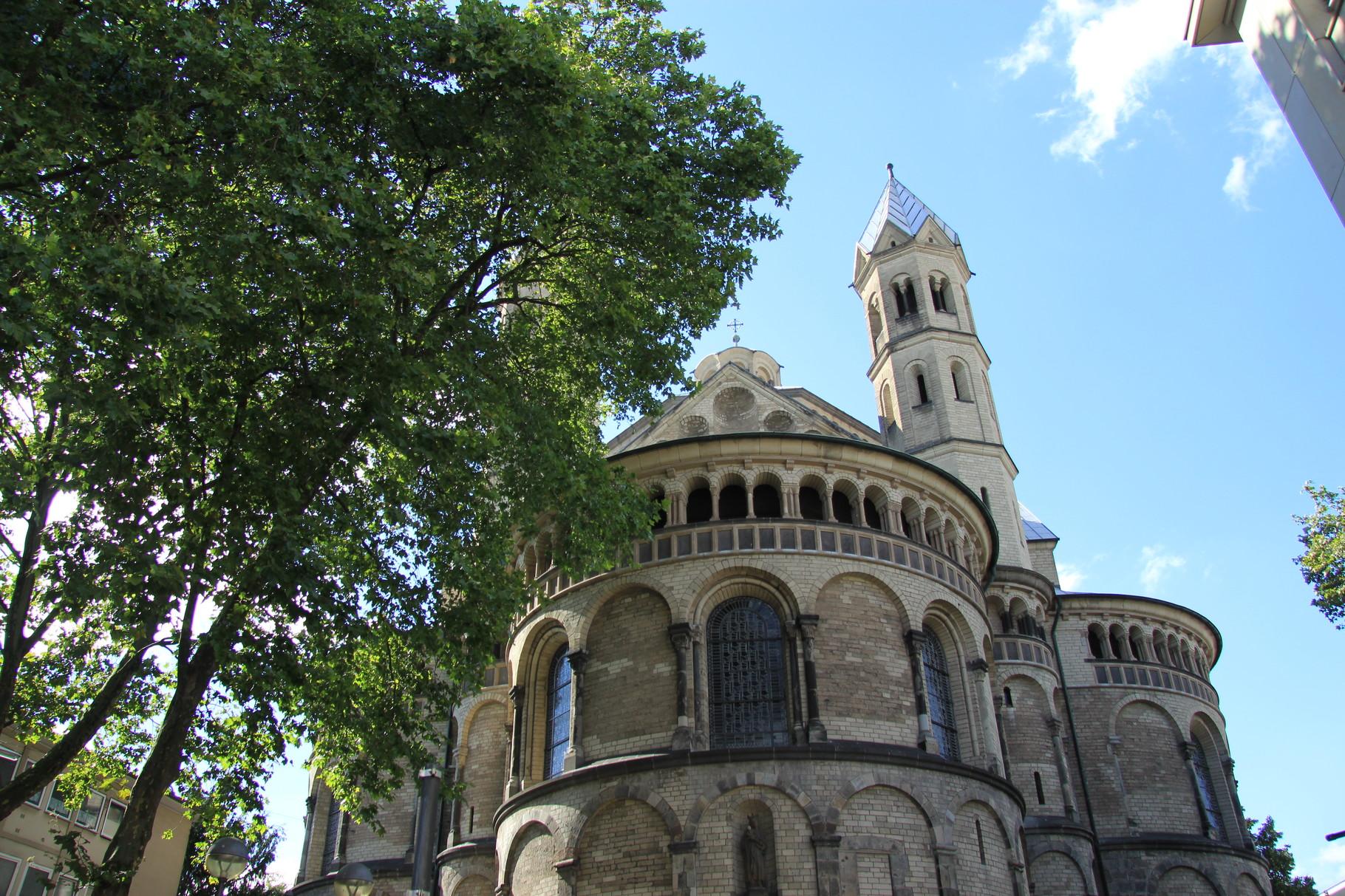 Führung Romanische Kirchen - St. Aposteln (am Neumarkt)