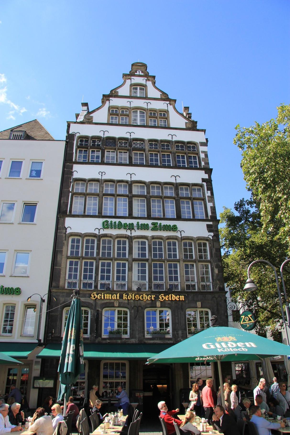 Brauhaustouren - Brauhaus Gilden im Zims am Heumarkt