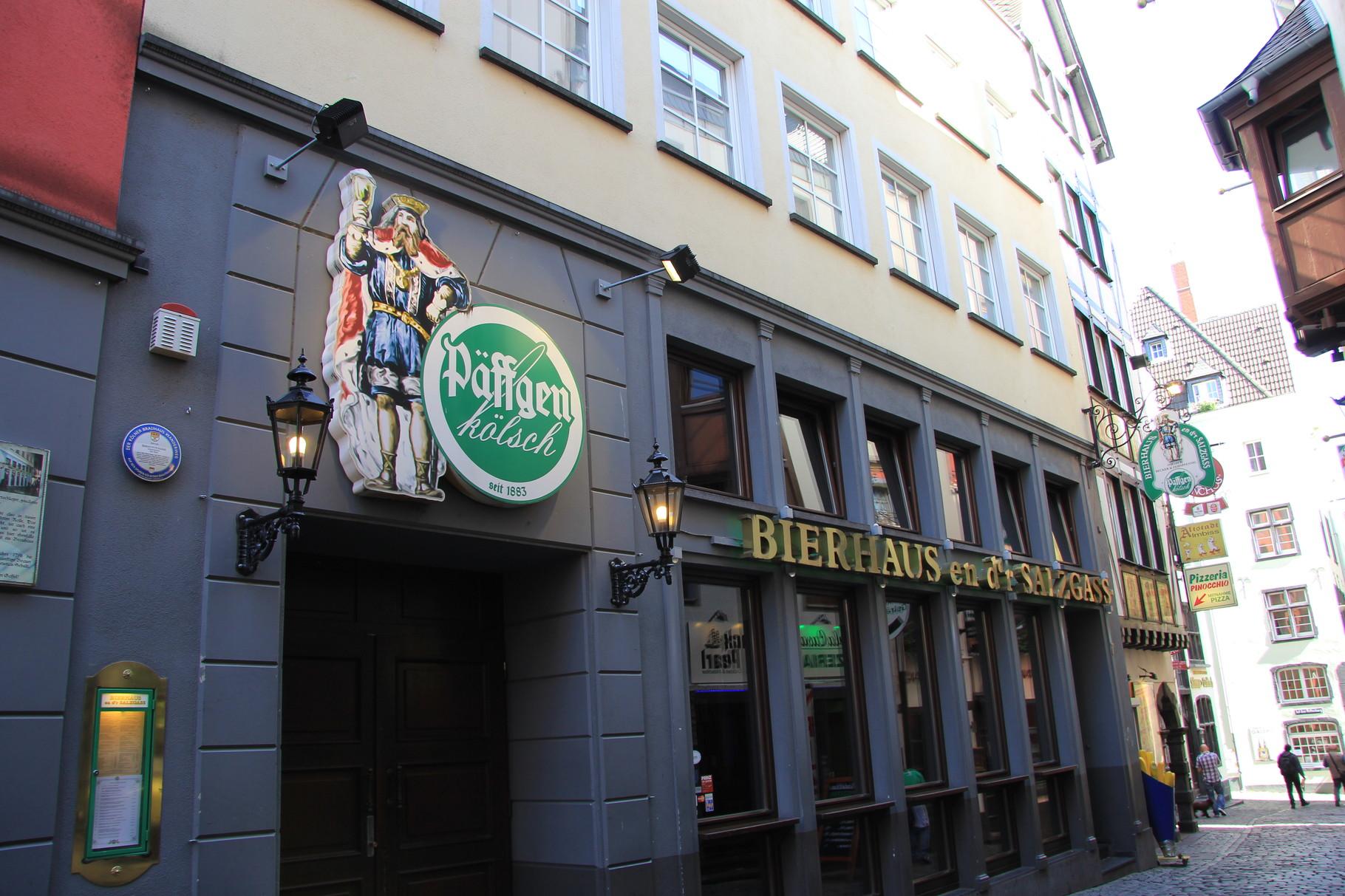Brauhaustouren - Bierhaus en d'r Salzgass (nahe Heumarkt)