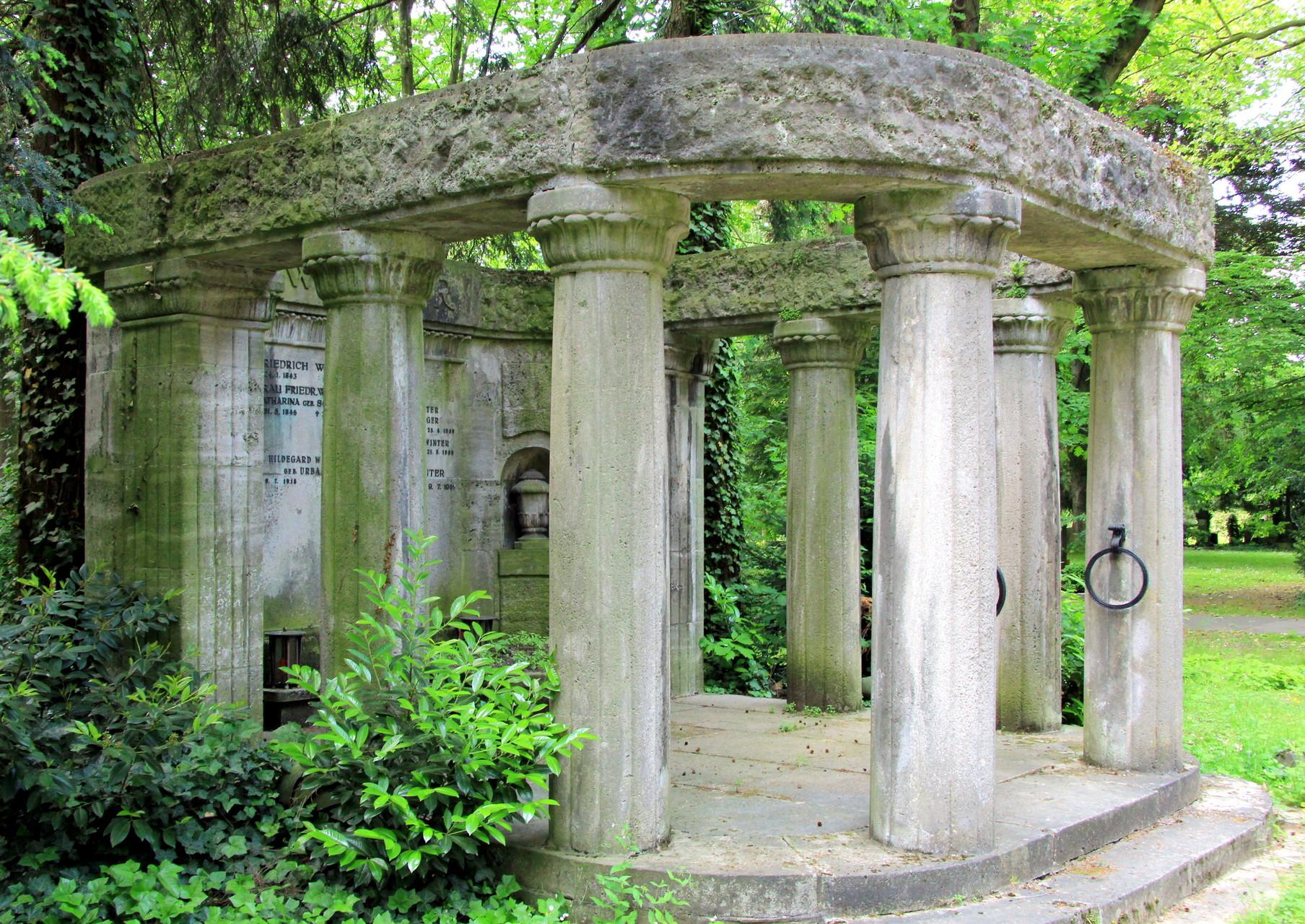 FÜHRUNG Melatenfriedhof - Grabmal F. Winter