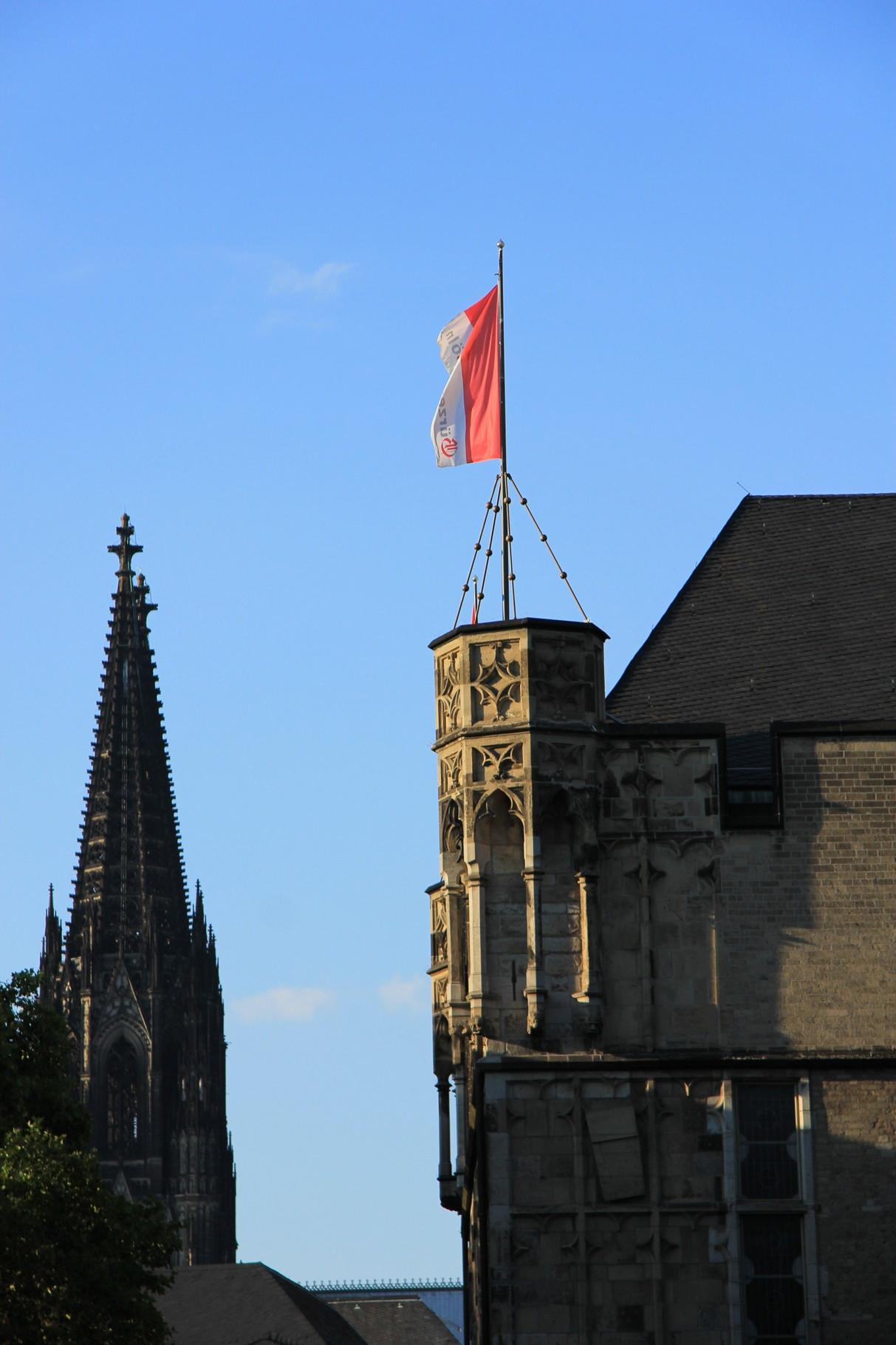 Das Beste, was man im Mittelalter plante: Domtürme und Gürzenich