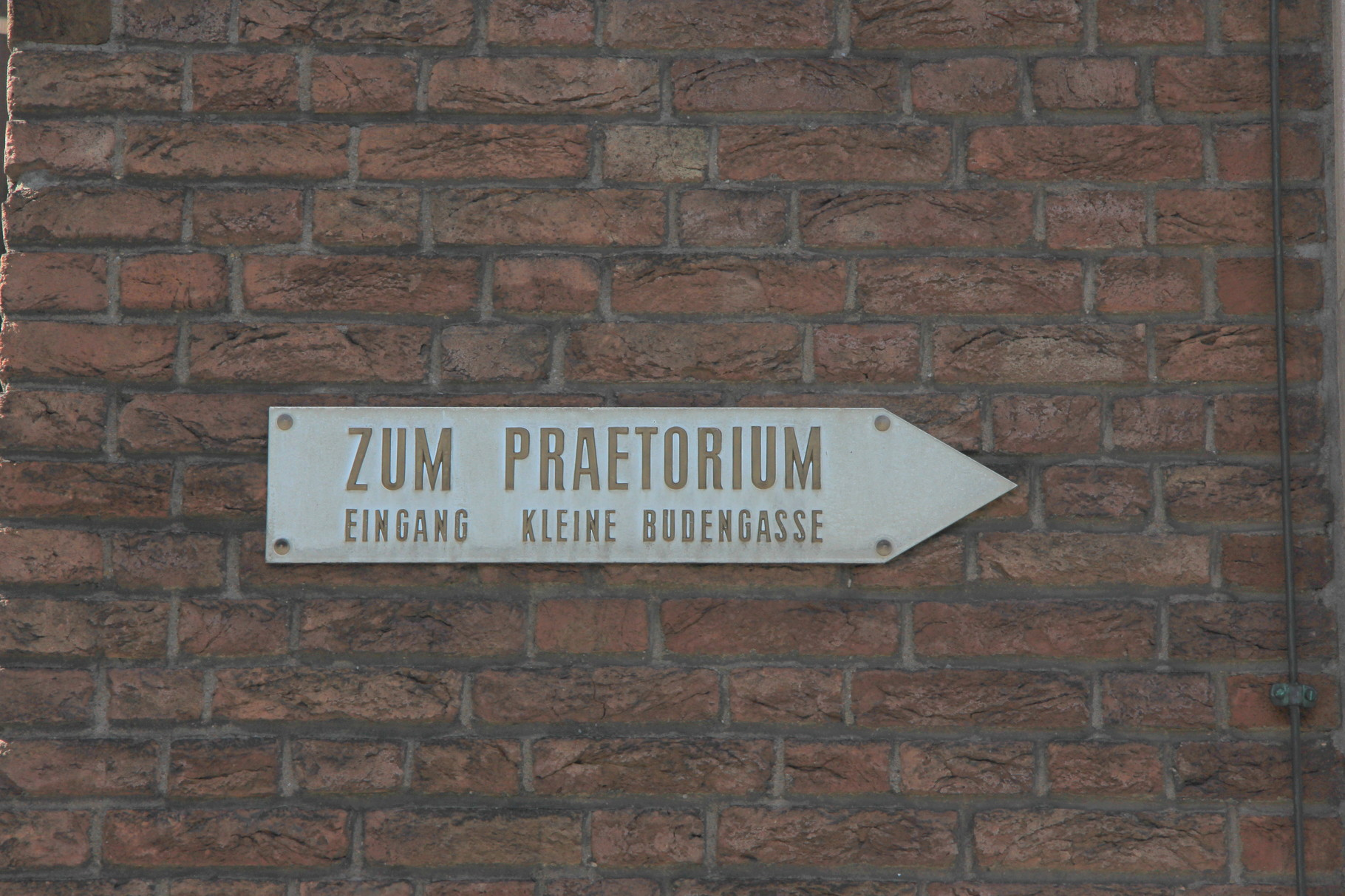 Kölsch & Römer - Zur Archäologischen Zone am Spanischen Bau...
