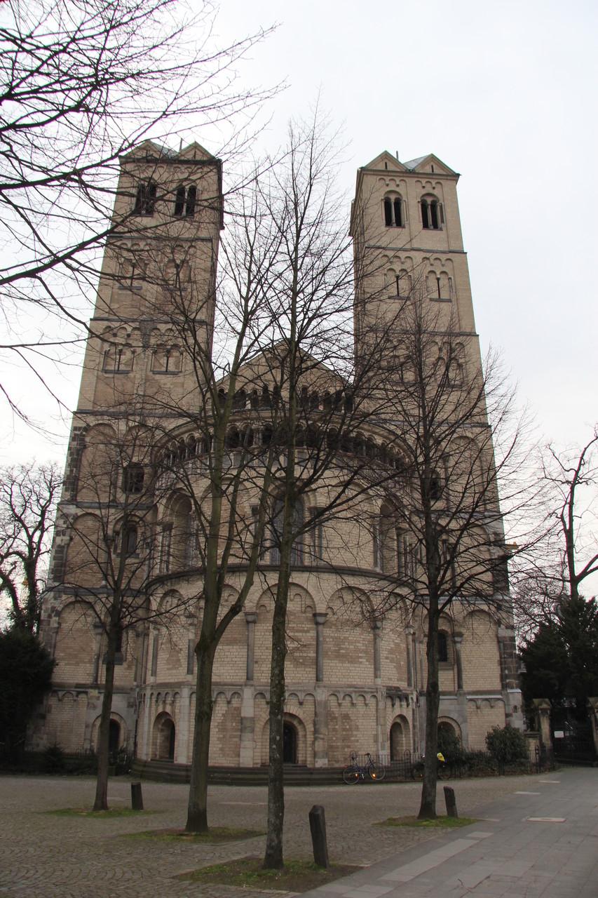 Führung Romanische Kirchen - St. Gereon (nahe der Ringe)