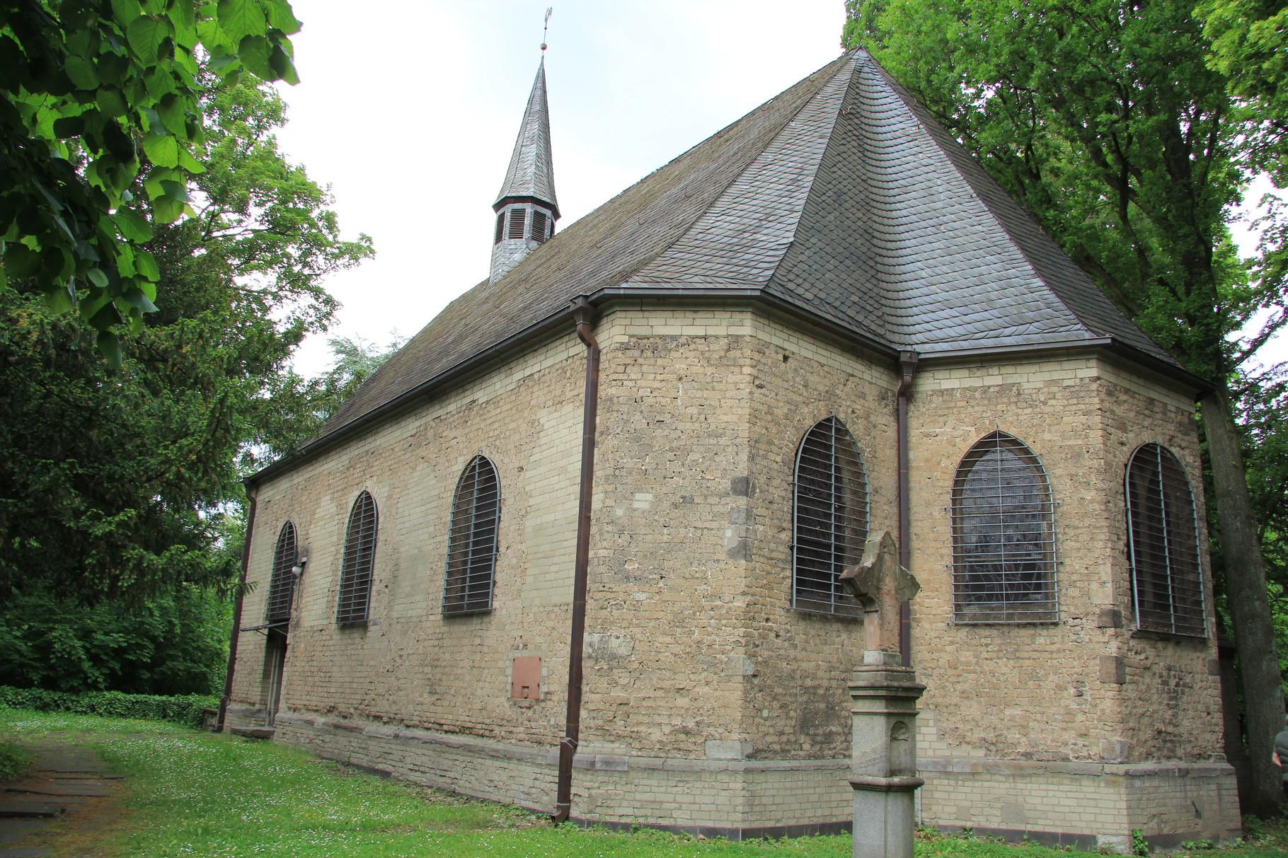 Darf bei einer Melatenfriedhof-Führung nicht fehlen: Kapelle der ehemaligen Leprosie (urspr. nach 1474)