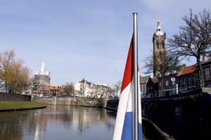 Flussbestattung in den Niederlanden