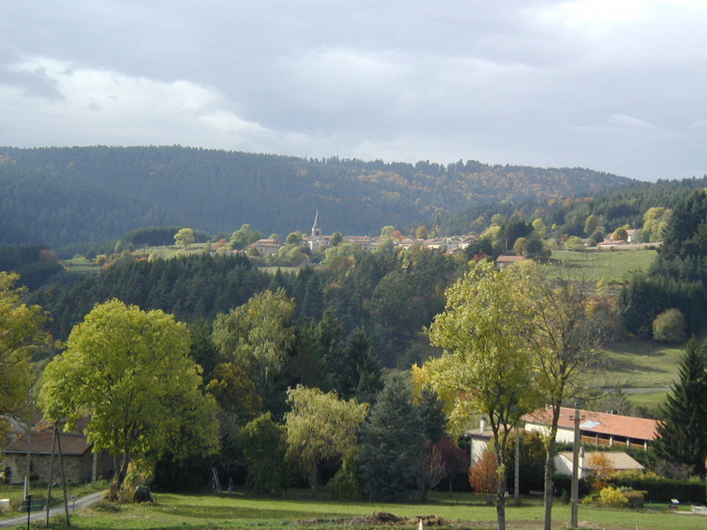 St-Romain vu du hameau