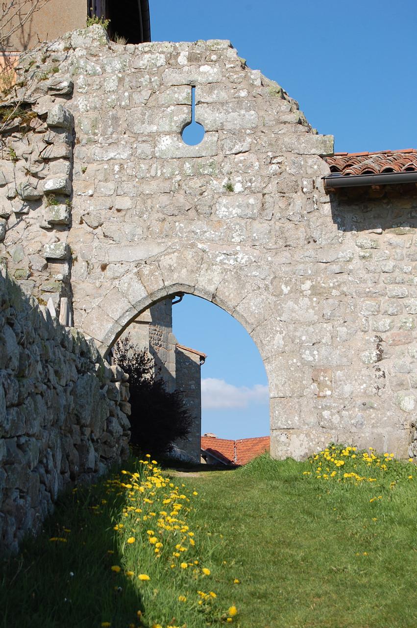 le village de Montarcher