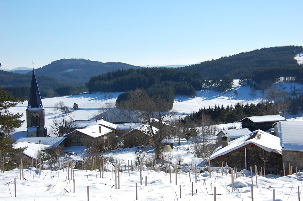 St-Romain en hiver