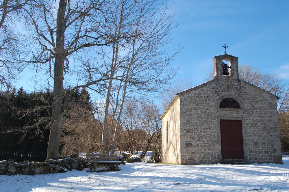 Chapelle près d'Eglisolles