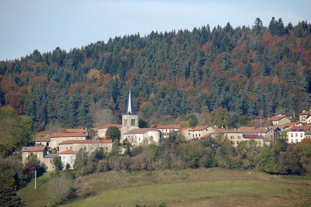 St-Romain à l'automne