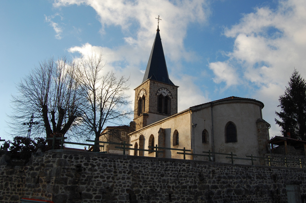 l'église de St-Romain