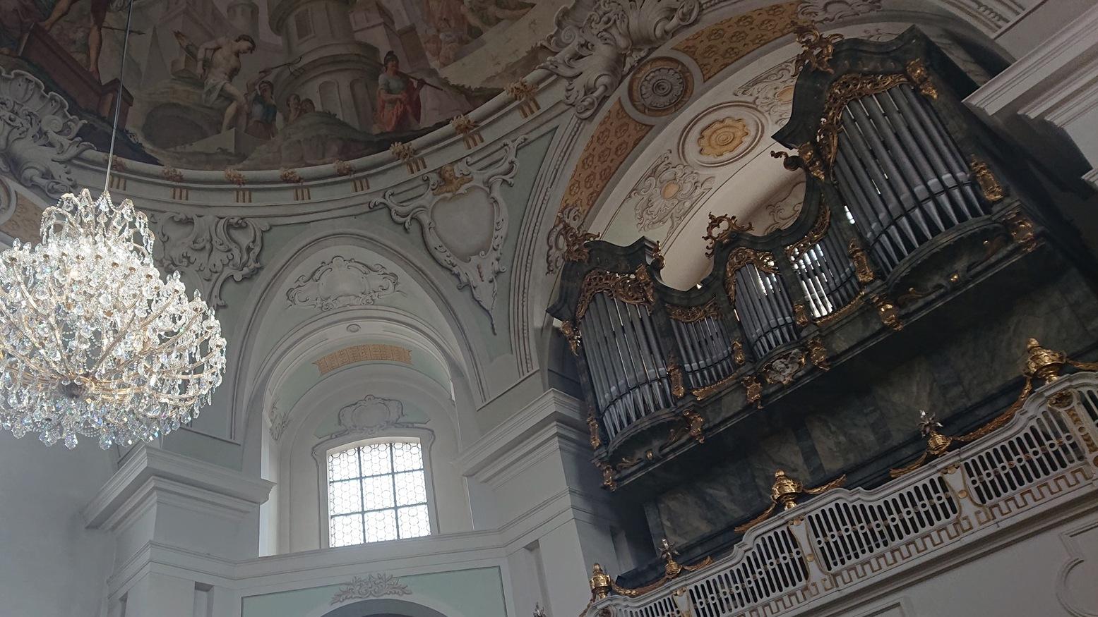 Orgel von Franz Borgias Maerz 1906